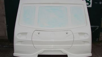 CPS-AVO-303 FULL FRONT AND LOCKER LID